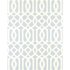 Kelly Wearstler Imperial Trellis Soft Aqua Wallpaper @Sarah Chintomby Nasafi Grayce #laylagrayce and #suryarugs