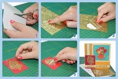 Reverse technique with stickers explained with a step by step plan Card Making Tutorials, Card Making Techniques, Craft Tutorials, Garden Signs, Your Cards, Cardmaking, Stickers, Playing Cards, Paper Crafts