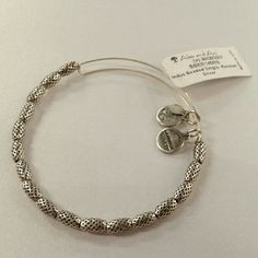 Alex & Ani Indus Beaded in Russian Silver Brand new with tags! Alex & Ani Jewelry Bracelets