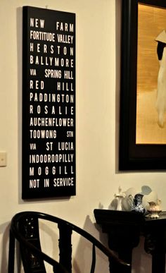 Decorate your walls with custom word art by : http://geezees.com/
