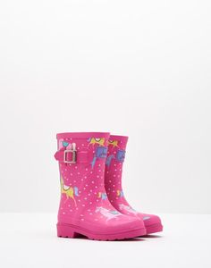 Printed Wellies - Perfect for heading back to school in style