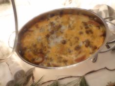 Here is my breakfast casserole.  Check out my blog and/or youtube channel for more details.
