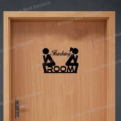 Free shipping worldwide. Creative DIY Funny Top Design Toilet Door Sign Sticker 1005 $9.99 Classification: For Wall Style: Creative Specification: Single-piece Package Pattern: Plane Wall Sticker Scen