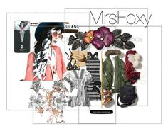 """""""Untitled #159"""" by mrsfoxy ❤ liked on Polyvore featuring ZeroUV, Oscar de la Renta, 1928 and County Of Milan"""