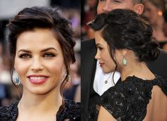 Jenna Dewan Tatum's Oscars hair is styled using Macadamia products