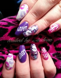 Day 44: Lovely Winter Nail Art - - NAILS Magazine