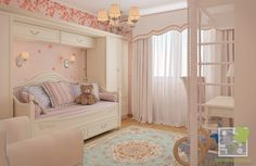 Детская для девочки | Портфолио | Дизайн интерьеров домов и квартир в Киеве - Елена Марченко
