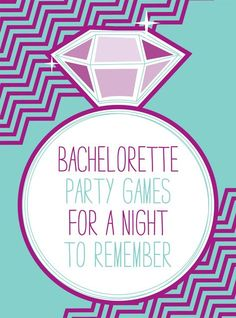 Bachelorette party games for a night to remember
