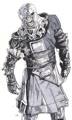 Resident+Evil+Sketches | Resident Evil Nemesis by ~monstercola on deviantART