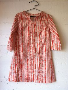 Dress 73 from artist Sonya Philp's 100 Acts of Sewing project