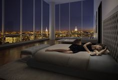 90 million dollar NYC penthouse apartment. one day ;)