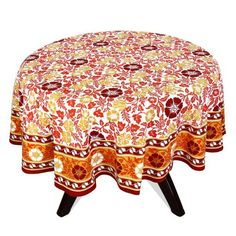 Indian Round Tablecloth 70 Spring Decorations Home Floral Cotton ShalinIndia http://www.amazon.com/dp/B00BJY4HYG/ref=cm_sw_r_pi_dp_KRjWvb1EM62K9