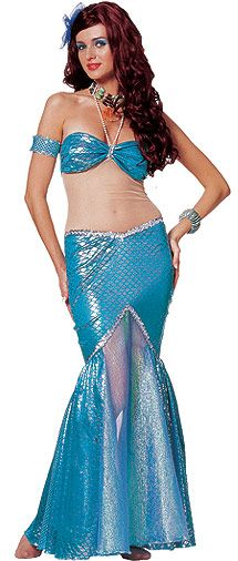 Mermaid Costume (stretch bottoms)