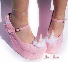 Unicorn Heels by Nixxi Rose