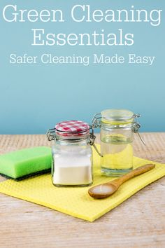 Want to change up your cleaning routine and make it better for you and the planet? These green cleaning products can help you get started. Homemade Cleaning Products, Cleaning Recipes, Natural Cleaning Products, Cleaning Hacks, Green Living Tips, Green Tips, Daily Shower Spray, Retro Housewife, Green Cleaning
