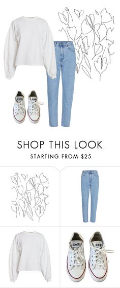 """""""Outfit, for School"""" by elzikaa on Polyvore featuring Blume, NLY Trend and Converse"""