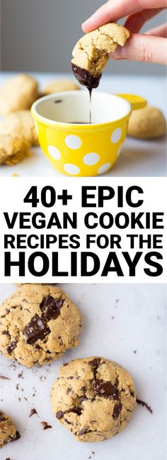 40+ Epic Vegan Cookie Recipes for the Holidays