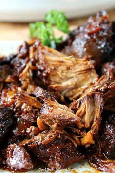 Crock Pot Country-Style Pork Ribs are fork tender, meaty and flavorful.