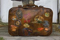 By the time I get home in January, I want a piece of my luggage to resemble this.
