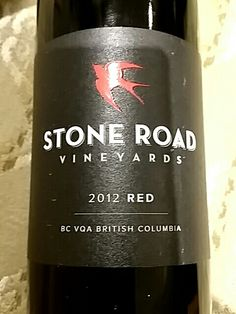 Stone Road Vineyards Smooth Red  from BC, Canada. A juicy, medium bodied wine with flavours of ripe red berries, cranberry and currant. Stone Road, Red Berries, Wines, Vineyard, Smooth, Canada, Canning, Medium, Home Canning