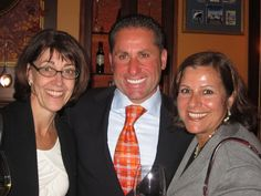 Maria Fava, owner of Lusardi's Restaurant with Mary Ann Mancino from Mancino Custom Tailors & Clothiers