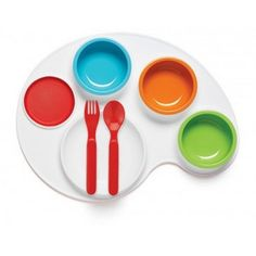 Skip Hop Palette Plate|Kids Dinnerware|Lime Tree Kids