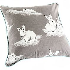 Peter Rabbit Scatter Cushions with piping of your colour from Chic Republic Interiors