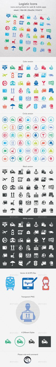Logistic Icons (Photoshop PSD, Transparent PNG, Vector EPS, AI Illustrator, CS5, 512x512, airplane, box, Car Transporter, cargo container, container ship, delivering, forklift, free delivery, free shipping, freight transportation, interstate shipping, land vehicle, logistics, merchandise, moving van, nautical vessel, overnight delivery, package, railway transport, shipping, transportation, truck, trucking, umbrella, warehouse)