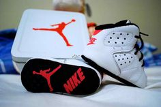 Baby Jordan 6's