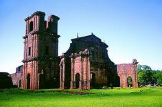Ruínas Jesuitas do Sítio Arqueológico São Miguel Arcanjo, São Miguel das Missões - Rio Grande do Sul