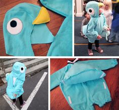"""Pigeon Costume by Designing Mom Jenn from """"Don't Let the Pigeons Drive!"""""""
