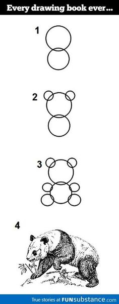 How to draw a Panda --