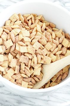 Guest Post: Something Swanky's Churro Chex Mix (GF, DF, Egg, Soy, Peanut/Tree nut Free, Top 8 Free, Vegan)