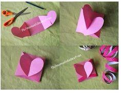 Little heart card diy