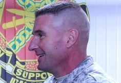 Soldier Haircut, Beard Haircut, Hairstyles Haircuts, Haircuts For Men, Military Hairstyles, Flat Top Haircut, Clipper Cut, Cops, Short Hair Cuts