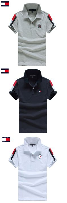 TOMMY HILFIGER Hot Sale Polo Shirts Men Spring Summer 3 Colors Fashion Casual Short Sleeve Men Polo Size S-XXXL