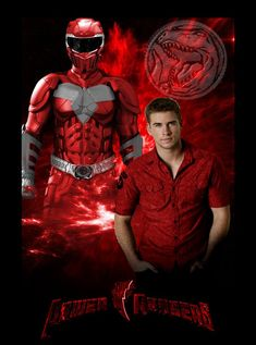 """Liam Hemsworth is Jason Scott """"The Red Ranger"""" I have completed my Trilogy of Power Rangers reboot Posters, so I decided to do character posters, leading into a final Poster.I've had the idea..."""