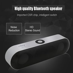Can support 4 kinds of mode to playing music, bluetooth, TF, U disk mode, mm audio line mode. Number of Loudspeaker Enclosure: Mini Bluetooth Speaker Portable Wireless Speaker Sound System Stereo Music Surround. Wireless Speaker System, Mini Bluetooth Speaker, Wireless Camera, Bluetooth Headphones, Portable Speakers, Bluetooth Gadgets, Audio Speakers, Audio System, Smartphone
