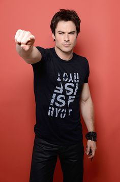 Ian Somerhalder at the Teen Choice Awards in Los Angeles on August 11, 2013