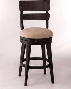black wooden counter stools swivel