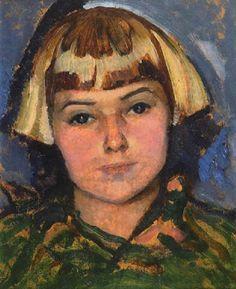 Portrait of Wilma, by Lilias Torrance Newton (Canadian, 1896-1980)