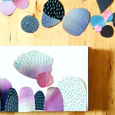Water Colour Cutouts