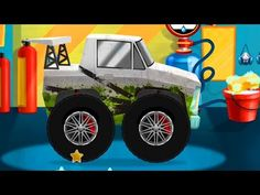 Crazy Cars Wash Service Racing Car Game Cartoon for Kids