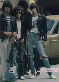"mrs-joey-ramone: ""The Ramones in New York City, via 70s Punk, Punk Goth, Ramones, Rock Roll, Beatles, Tommy Ramone, Hey Ho Lets Go, 20th Century Music, Stoner Rock"