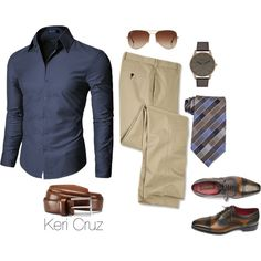10.3 by keri-cruz on Polyvore featuring Kenneth Cole Reaction, Rayban, Doublju and Allen Edmonds