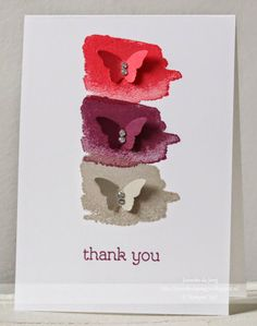 Janneke, Stampin' Up! Demonstrator : Thank you