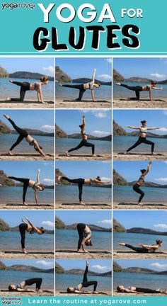 A fun a simple 10 minute yoga routine to lift and tone your butt! This sequence consists of 10 poses and is super beginner friendly! Cardio Yoga, Pilates Workout, Workouts, Yoga Gym, Yoga Routine For Beginners, Meditation For Beginners, Easy Yoga For Beginners, Yoga Stretches For Beginners, Yoga Flow Sequence