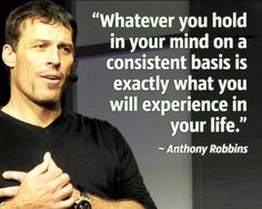 Whatever you hold in your mind on a consistent basis is exactly what you will experience in your life. #quote @quotlr