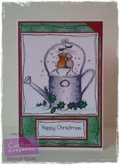 Moonbeam Meadow Christmas EZMount Stamp Set - Christmas Kisses