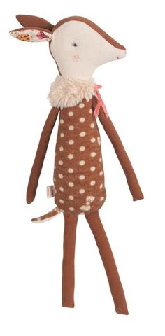 If I have a daughter, this would make a sweet fawn doll to carry on the tradition...  Brand is Maileg; doll is called Bambi